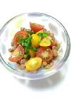 カラフルなプチトマト&納豆♪by千風