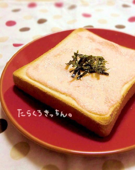 パン屋さんの味*明太トースト