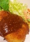 味噌カツ  〜鶏ムネ肉で〜