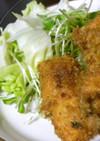 振り塩鮭のフライ