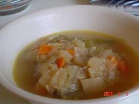 あまあま野菜スープ