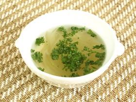 シンプルコンソメスープ