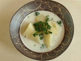 かぶの豆乳スープ