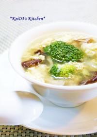 中華/具だくさんの卵スープ