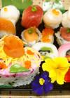 2014年ひな祭り❤ハートのちらし寿司❤