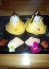 超簡単 お雛様のお寿司