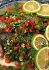 白身魚のタイ風なソース