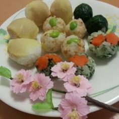お刺身なしで簡単☆ひな祭りに手まり寿司