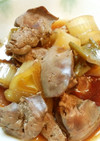 鳥レバーのたまりしょう油と黒酢の煮物