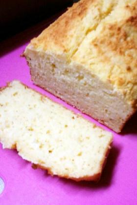 簡単☆生おからの混ぜるだけパウンドケーキ
