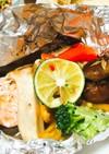 楽々♪ポン酢&バターの鮭のホイル焼き
