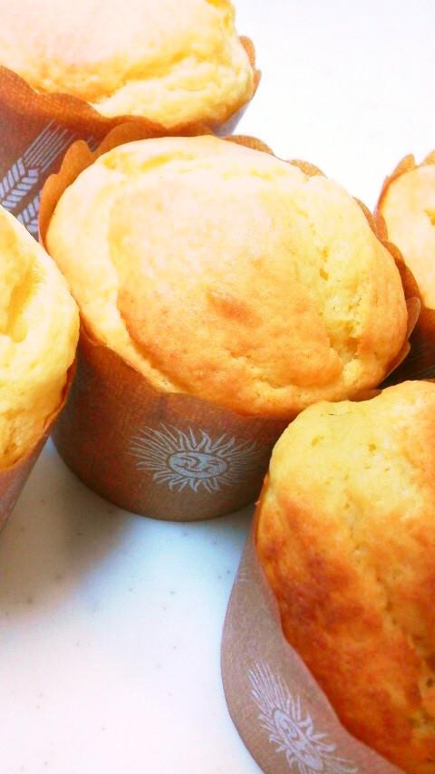 朝食おやつに☆HM簡単ズボラお豆腐ケーキ
