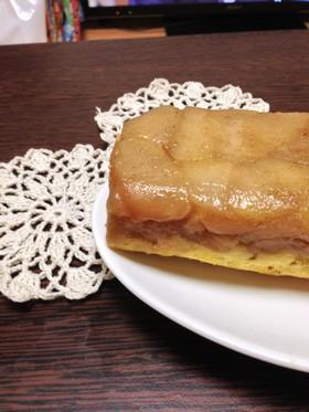 りんごとさつま芋のタルトタタン風