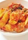 鶏肉とセロリのトマト煮