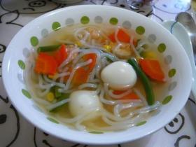 しらたきのスープ