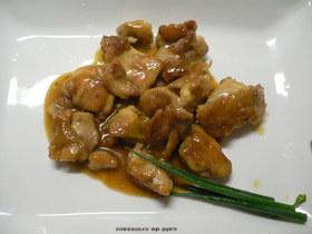 鶏モモ肉のマーマレード煮