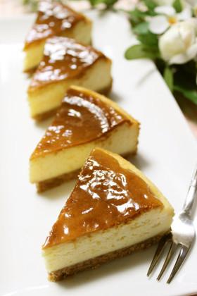 ミキサーで簡単*濃厚ベイクドチーズケーキ