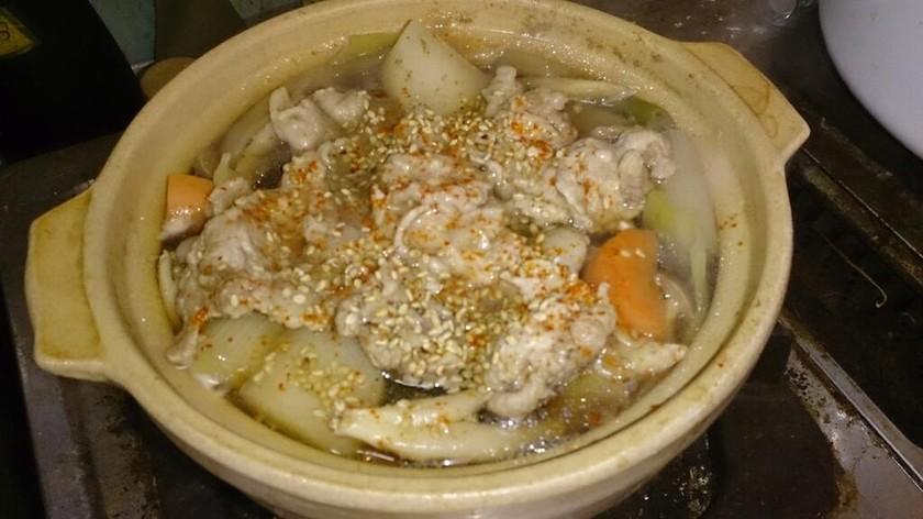 低カロリーたっぷり温野菜煮込み鍋