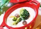 たっぷり野菜ときのこの豆乳スープ