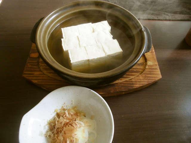 豆腐好きの湯豆腐