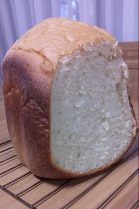 HBで☆塩麹とごはんでふわふわ食パン