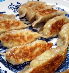 納豆焼餃子 vegan-style