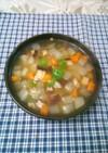残り野菜と鶏肉で のっぺい汁♪