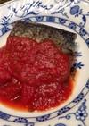 クラシコトマトソースで☆塩サバのムニエル