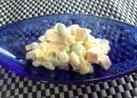 ゆで卵のサラダ(枝豆&魚ニソバージョン)