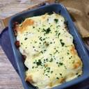 ブロッコリーの豆腐クリームグラタン