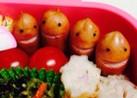 お弁当の見張り番☆簡単キャラ弁