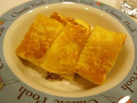 離乳食後期☆リンゴのフレンチトースト