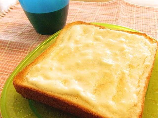チーズケーキトースト