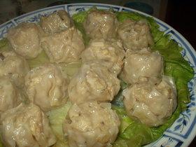 鶏&豚☆ハーフ&ハーフの焼売
