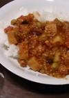 肉なし☆豆と高野豆腐のキーマカレー