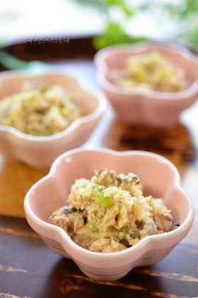 椎茸とネギたっぷり☆美味しいおから煮