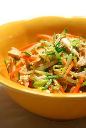 懐かしの給食の味☆野菜とささみの和え物♪