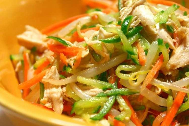 懐かしの給食の味☆野菜とささみの和え物♪ レシピ・作り方 by けゆあ ...