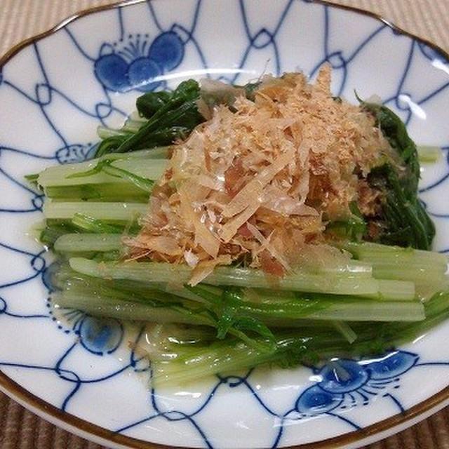 おひたし 水菜 レシピ
