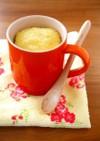 材料3つ♪レンジで簡単マグカップ蒸しパン
