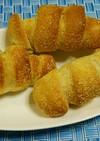 コーングリッツのウインナーロールパン