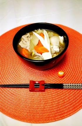 【ママレシピ】激ウマな「福島芋煮汁」