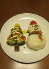 ☆クリスマス☆野菜たっぷりのデコ幼児食