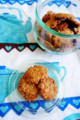 オートミールと全粒粉のクッキー