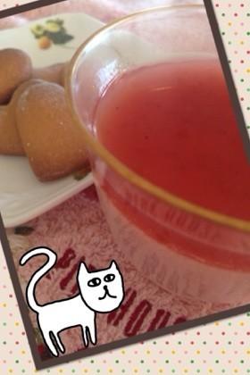 春色ゼリー(^o^)/セノビックイチゴ味