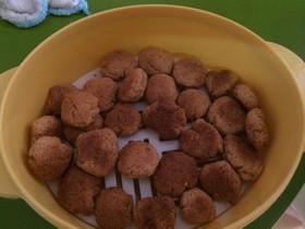 簡単!きな粉豆乳クッキー