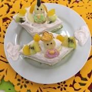 ひしもちの食パンケーキの写真