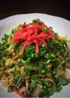 生中華麺でしっとり焼きソバ!