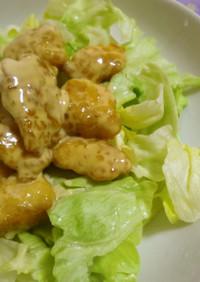 野菜を食べる!鶏むねのオイマヨソース