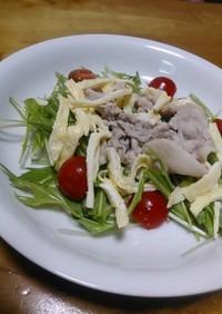 ゆで豚のサラダ